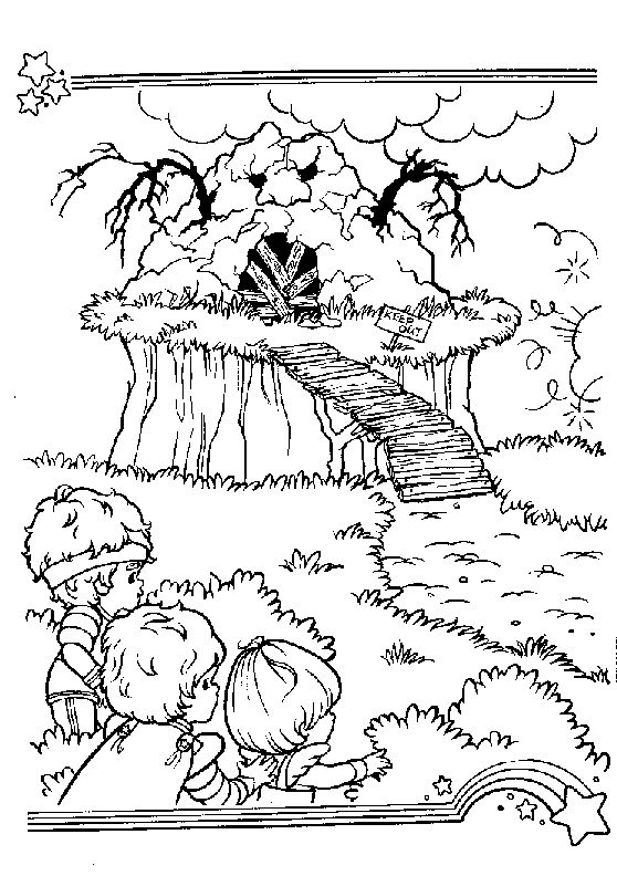 rainbow brite 999 coloring pages - 999 Coloring Pages