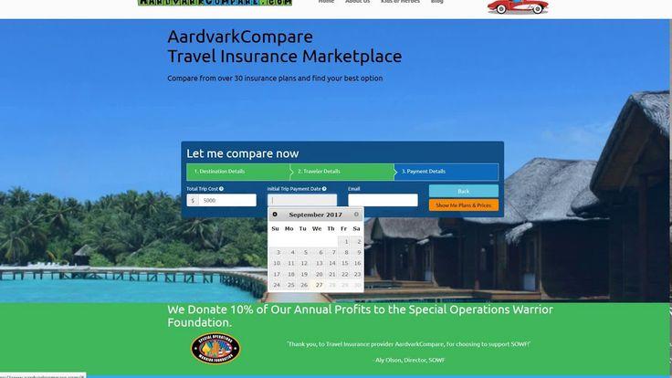 Best Travel Insurance Deals - AardvarkCompare