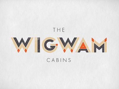 the wigwam cabins perfect logo
