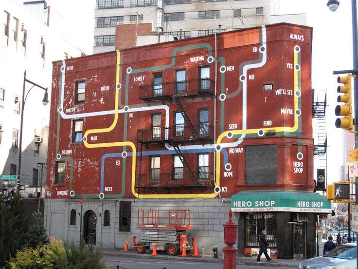 Steve Powers, 'Train To Always', Brooklyn - unurth | #streetart #Brooklyn #art