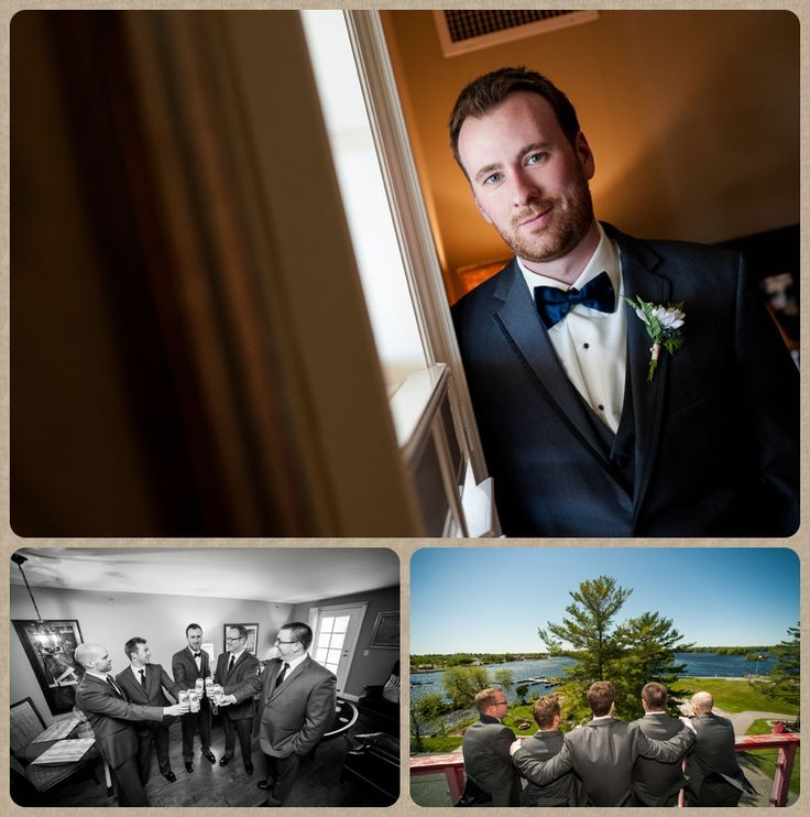 Port Severn wedding at Rawley lodge- The Boys