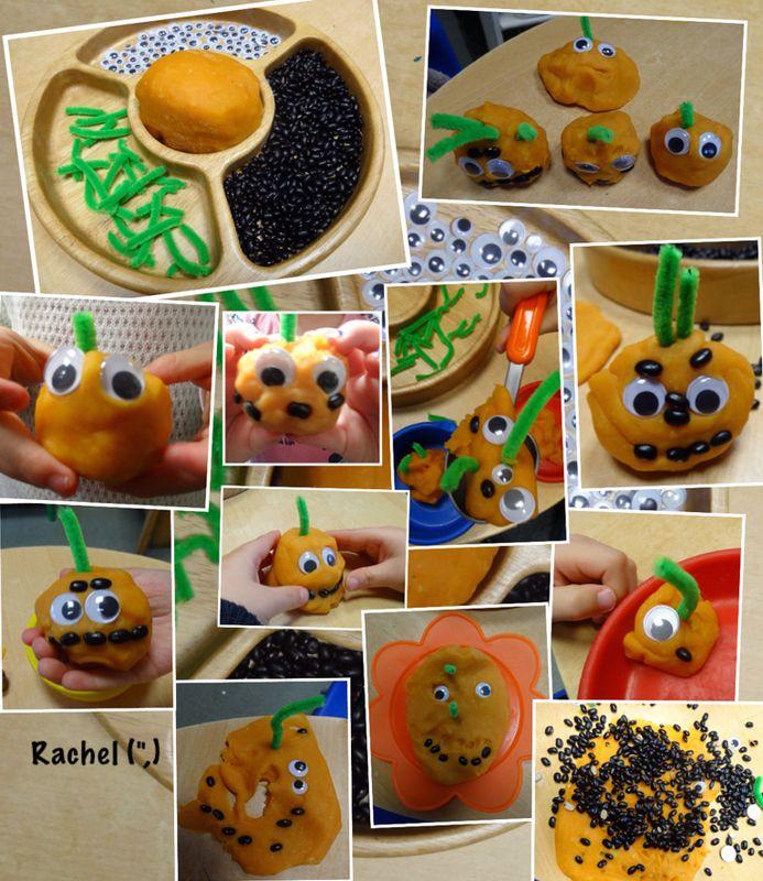 """Pumpkin dough - from Rachel ("""",)"""