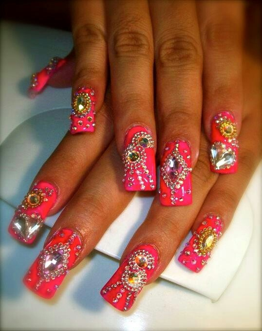 My Shit Mona's Nails Estilo Sinaloa 909 area