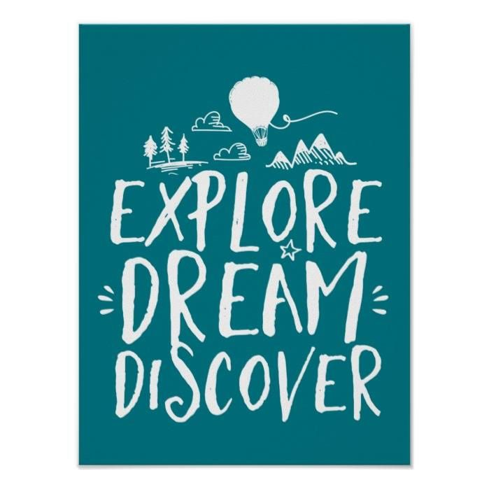 Customizable #Adventure #Calligraphy #Explore#Dream#Discover #Forest #Funny #Hot#Air#Balloon #Humor #Jungle #Life#Quotes #Mark#Twain#Quotes #Motivational#Inspirational #Mountain #Travel #Tree #Typography#Design #Vintage#Rustic Explore Dream Discover Travel Quotes Poster available WorldWide on http://bit.ly/2fMhjVb