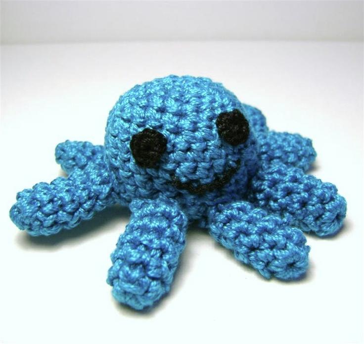 gehaakte octopus