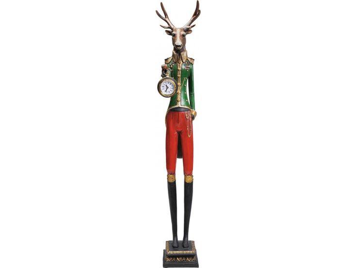 Zegar Stołowy Gentleman Deer — Zegary i budziki Kare Design — sfmeble.pl