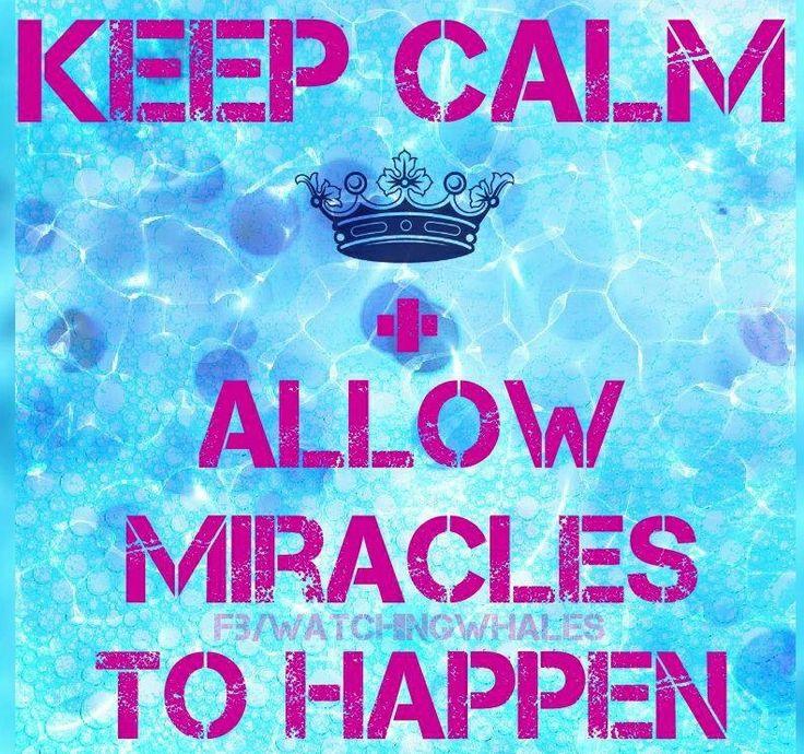 Keep calm quote via www.Facebook.com/WatchingWhales