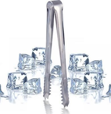 Best Price stainless steel 6 inch Ice Tong For Food Salad Sweet Bread Cake Wedding Party Buffet Bar BBQ