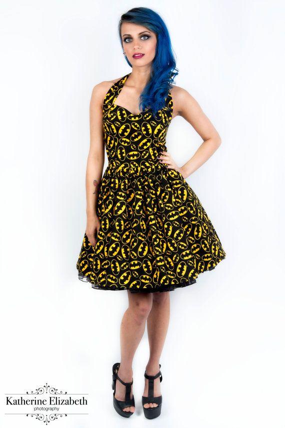 Batman dress-comic dress