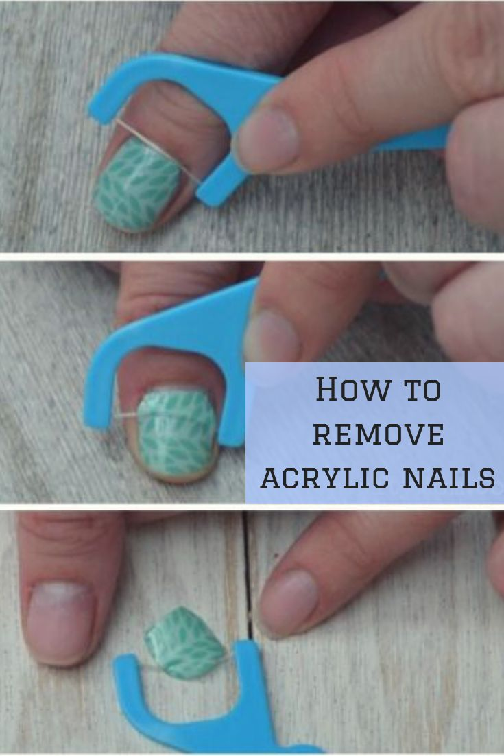 How To Remove Acrylic Nails At Home : Ultimate Guide ...