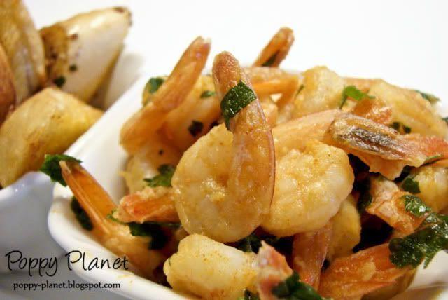 Tapas - creveti cu usturoi (garlic shrimps), Rețetă Petitchef
