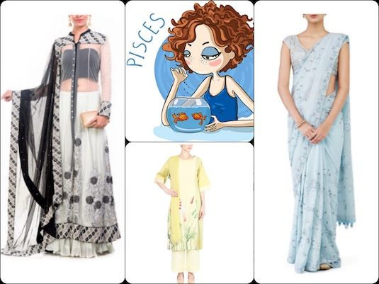 As an Pisces woman, which  are the perfect ethnic looks you're likely to love? Check out our picks in our latest #blog post: https://strandofsilk.com/indian-fashion-blog/stylish-thoughts/indian-ethnic-outfits-match-your-star-sign
