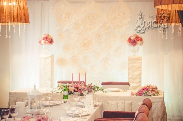 Французская бумажная свадьба, оформление свадьбы в Черкассах Alaska.ck.ua