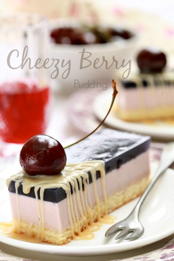 masam manis: Cheezy Berry Puding