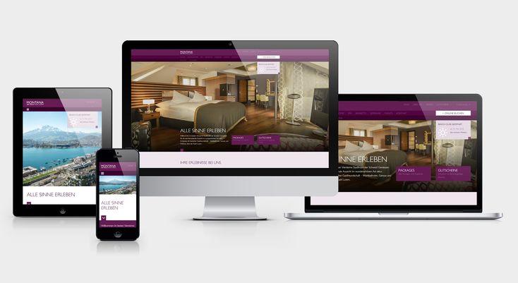 ART DECO HOTEL MONTANA - Responsive Website