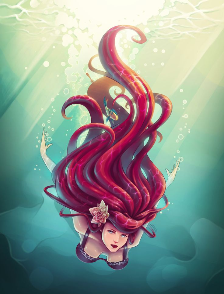 128 best goldfish and mermaids by the sea images on for The little mermaid fish