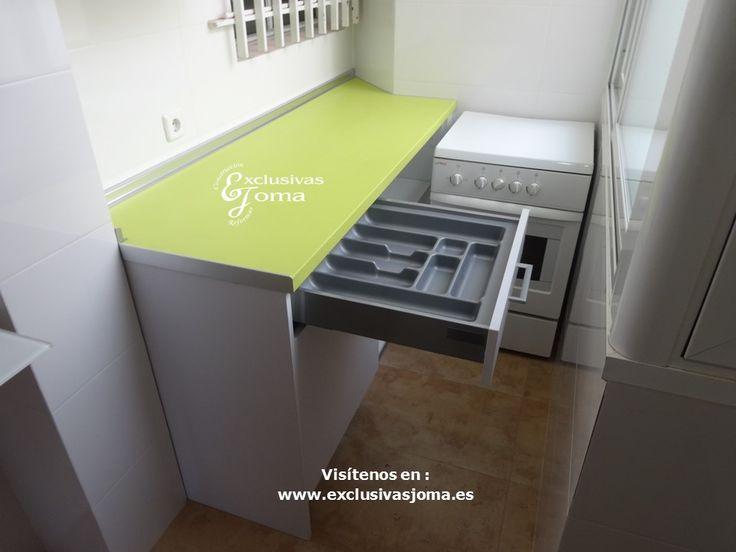 M s de 25 ideas incre bles sobre encimeras de cocina verde - Muebles bravo murillo ...