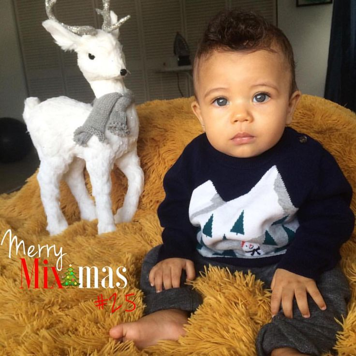"Mixed Race Babies on Instagram: ""#MerryMixmasFinalist #25 @colorblind_bird • Chinese, Black (Jamaican) & Caucasian (Russian) • Lèo - 6 Months ✨Voting starts now. 1 like equals 1 vote. Winners will be announced on Sunday, Dec. 20th. ✨Tagging & sharing is ok. Also there is open voting so feel free to vote for as many finalist as you would like. We encourage our finalist to support one another as well. GOOD LUCK """