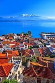 The beautiful hues of Navpaktos, Dytiki, Ellada, Greece. BEAUTY