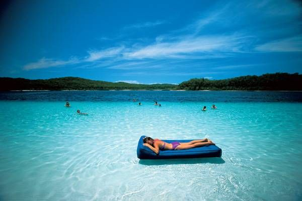 Fraser Island   30 of the Coolest Beaches in the World that you must visit in 2013! #fraser #lakes #queensland