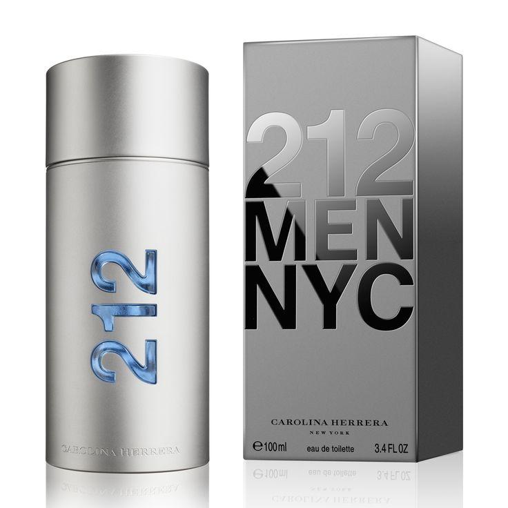 Carolina Herrera 212 eau de toilette spray for men. #perfumes #review