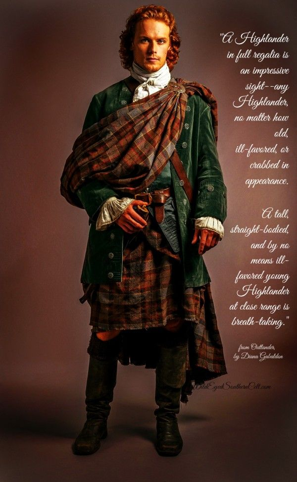 The Scottish Highlander has at last married his Sassenach lass in Starz' cable series Outlander--and Jamie Fraser was a breath-taking groom.