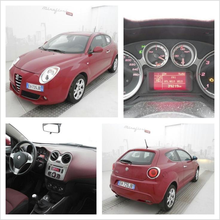 Alfa Romeo Mito 1.6 JTDM 120 CV  Distinctive, color Rosso Alfa, a 12.000 €! #Alfaromeo #Mito #Mirafiorioutlet #lanostravetrina #usato