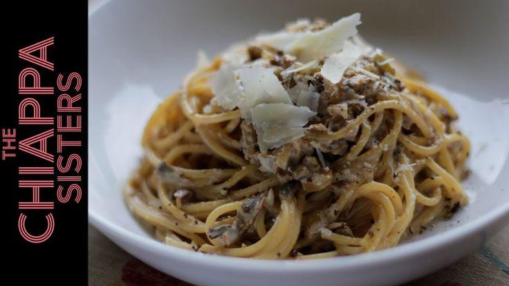 Creamy Mushroom Pasta   Chiappa Sisters