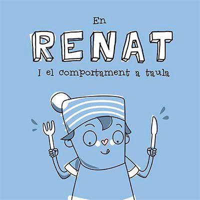 En Renat i el comportament a taula. on Behance