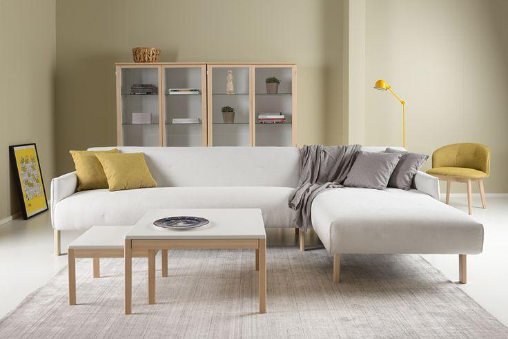 Taru divan designed by Petra Lassenius, Junet