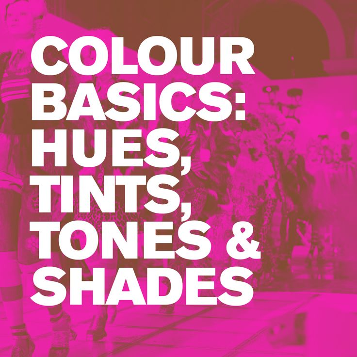 Colour basics Hues Tints Tones and Shades. It's time to get back to basics. We look at the colour theory design principles of hues, tints, tones and shades.