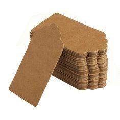 #Banggood 100 крафт-бумага подарочные теги свадебной этикетки для выпечки перечисленных пустой тег (924849) #SuperDeals