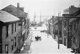 New Bedford Streets; A Piece of Americana: Centre Street | New Bedford ...