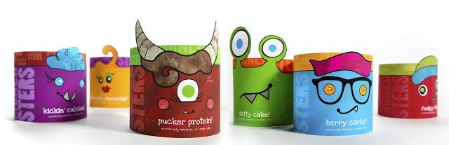Munchsters (Student Project) on Packaging of the World - Creative Package Design Gallery