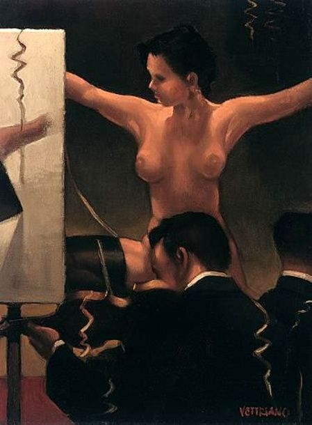 Jack Vettriano - The Pain and the Pleasure