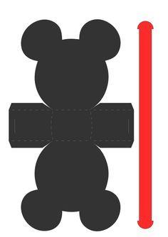 Kit Aniversário de Personalizados Tema Mickey Mouse - Convites Digitais Simples