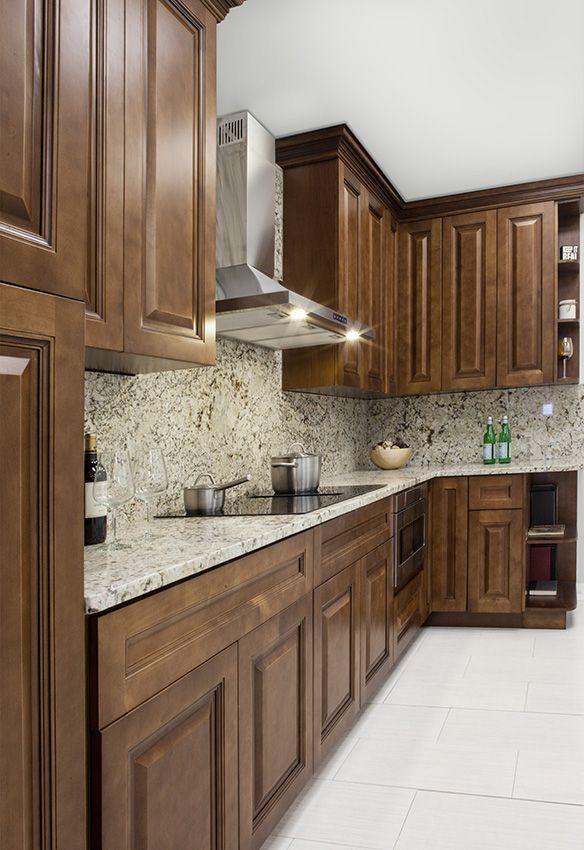 Kitchen Cabinet Kings Frameless Kitchen Cabinets Maduro Birch