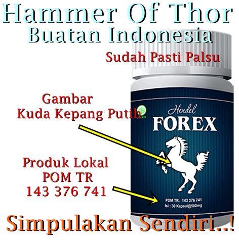 Hammer Of Thor Herbal Forex Kuda Putih