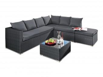 Lounge-Gruppe für den Aussenbereich. Das sind Gartenmöbel von denen man nicht mehr aufstehen möchte!
