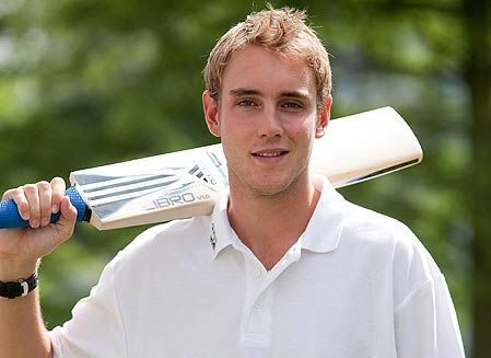 The lovely Stuart Broad :)