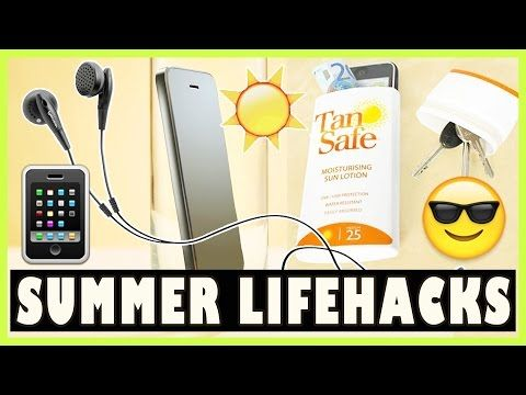 10 SUMMER LIFE HACKS DEUTSCH - Top Sommer Gadgets 2015 mit Simon Mai | Prowl3r - YouTube