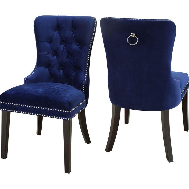 Best 25+ Blue velvet dining chairs ideas on Pinterest
