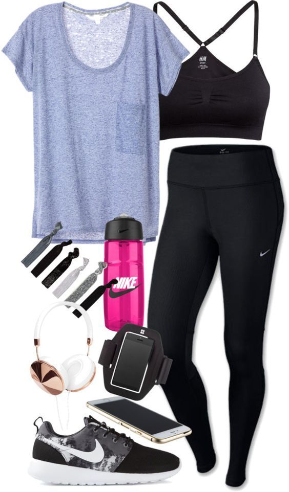 Cool Stylish Summer Workout Outfits for Women , Gym Outfit Ideas