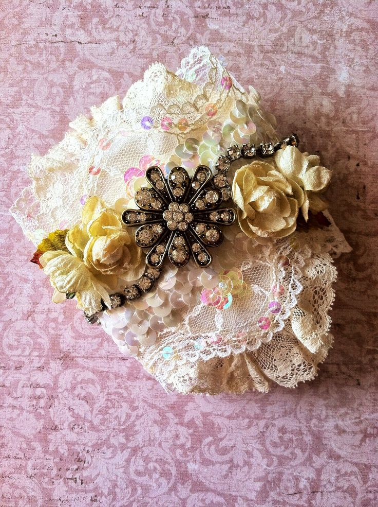 Zeus and Zoe: Kimberly N , Vintage Wedding Cuff.
