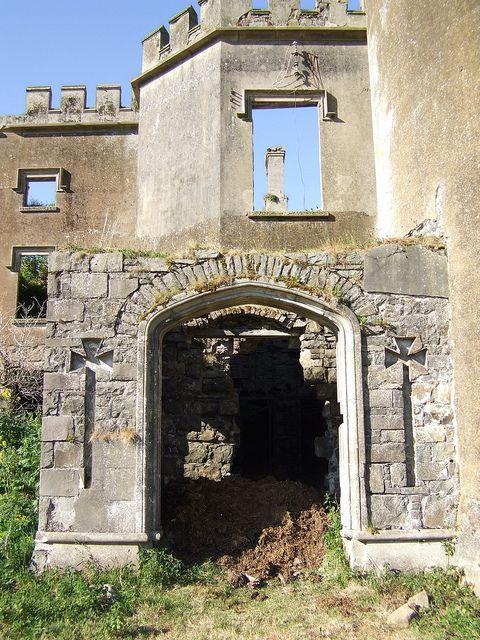 Kilwaughter Castle Ruins, Larne, Ireland