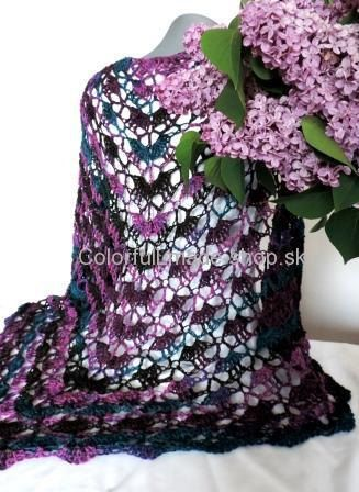 Bahamas scarf color by ColorfullmadeShop on Etsy