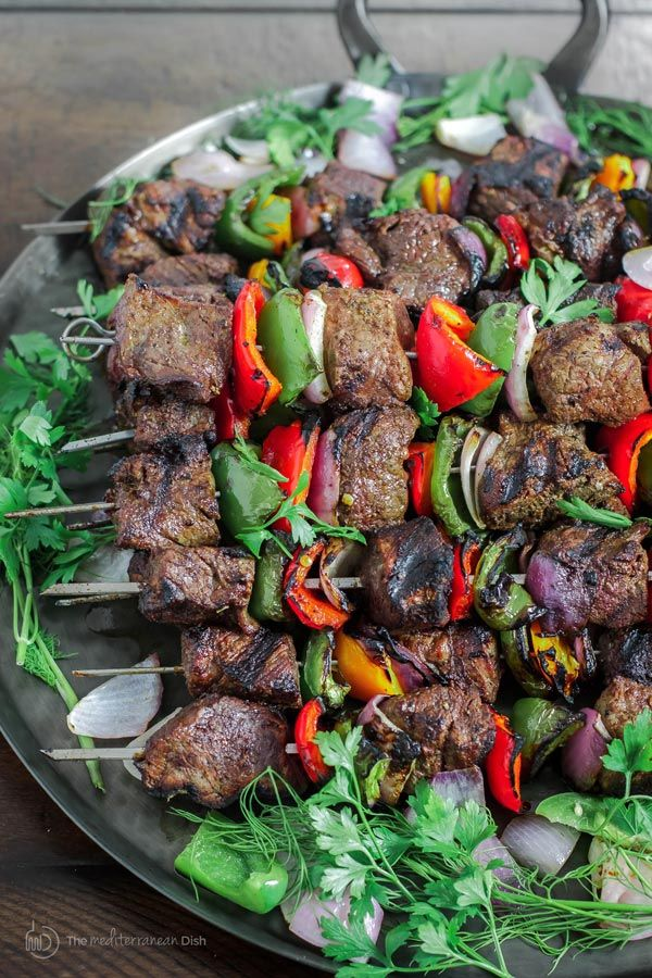 The best beef shish kabob recipe (how-to!) | The Mediterranean Dish. This recipe…