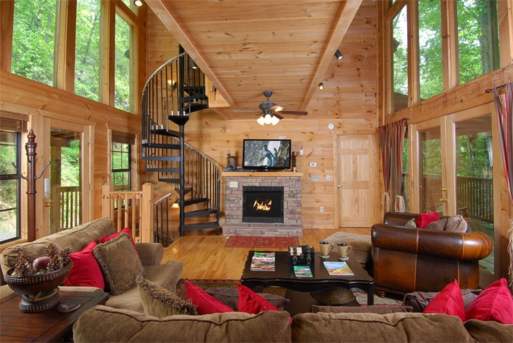 38 best images about perfect log cabins on pinterest for Weekend getaways in tennessee for couples