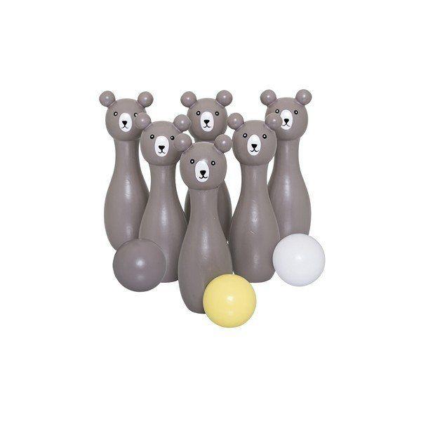 Kido Store: Wooden Play Set - Bowling Bears