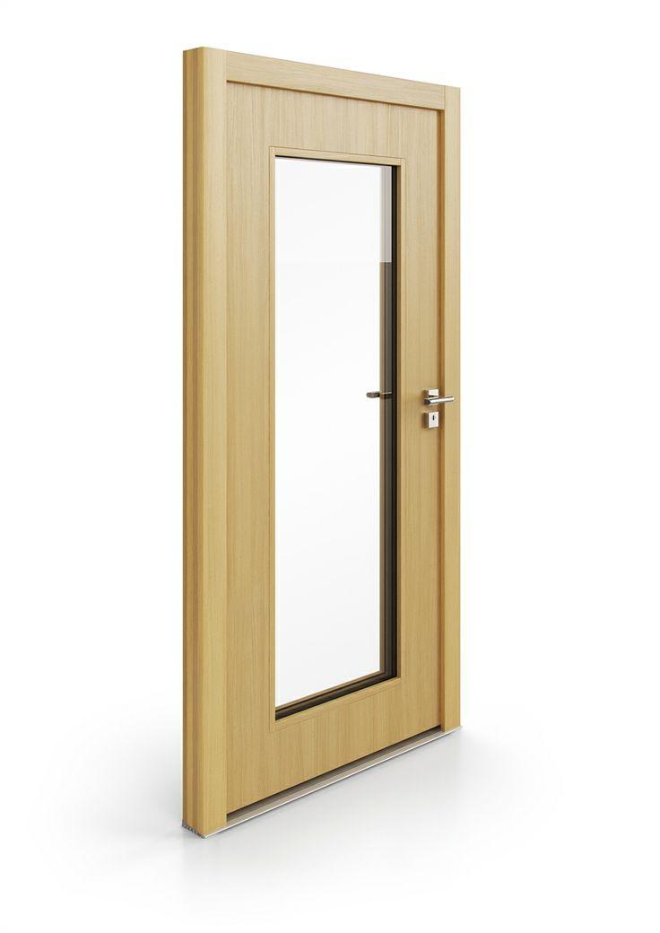 dřevěné vchodové dveře BLOCK | wood entry door BLOCK